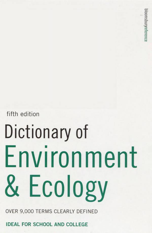 Dictionary of Environment & Ecology (5th Edition)