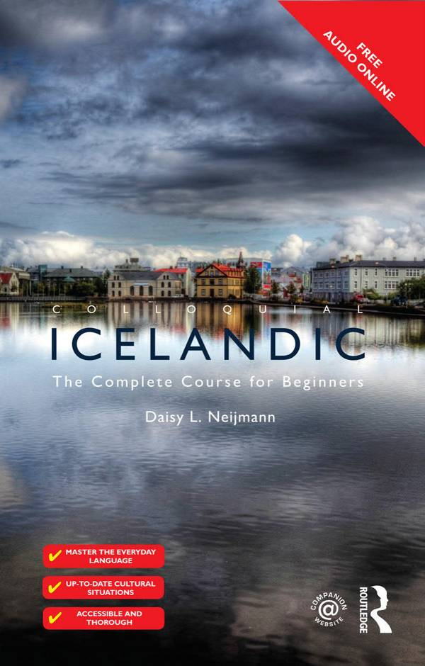 Colloquial Icelandic – The Complete Course for Beginners