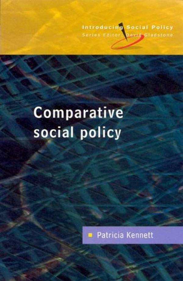 Comparative Social Policy – Theory and Research
