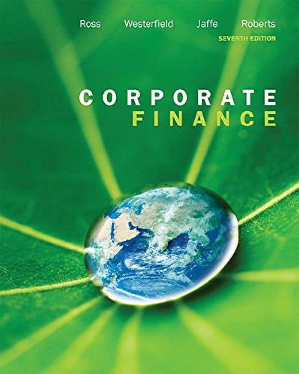 Corporate Finance (Ross, 7th Canadian Edition)