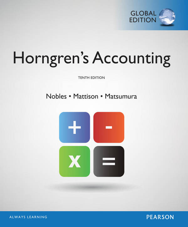 Horngren's Accounting (10th Global Edition)