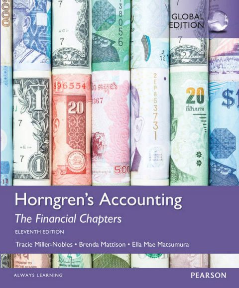 Horngren's Accounting - The Financial Chapters (11th Global Edition)