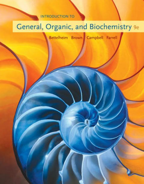 Introduction to General, Organic, and Biochemistry (9th Edition)