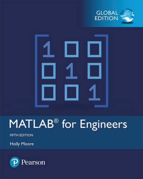 MATLAB for Engineers (5th Global Edition)